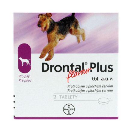 Drontal Plus flavour a.u.v. 1x2 tablet