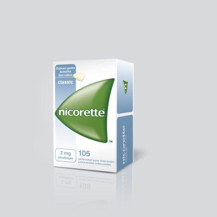 Nicorette Classic Gum 2 mg 105x2 mg