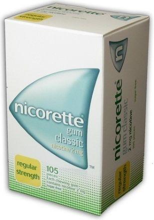 Nicorette Classic Gum 4 mg