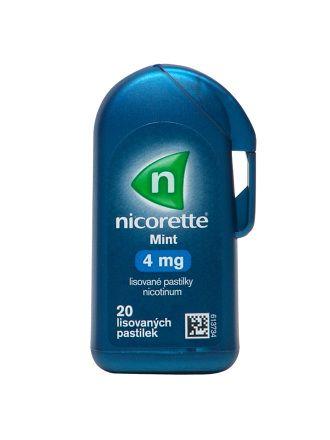 Nicorette mint 4 mg