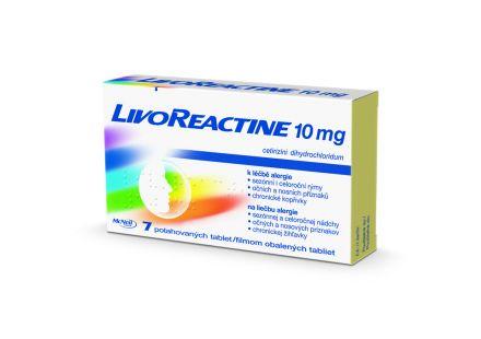LivoReactine 10 mg cena od 40 Kč