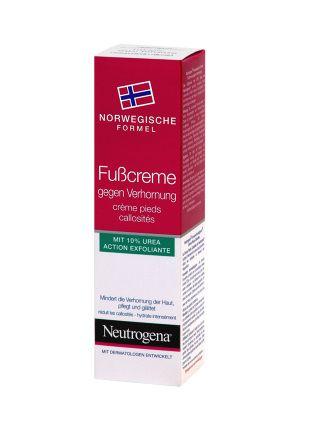 Johnson & Johnson Neutrogena krém na suchá chodidla 50 ml