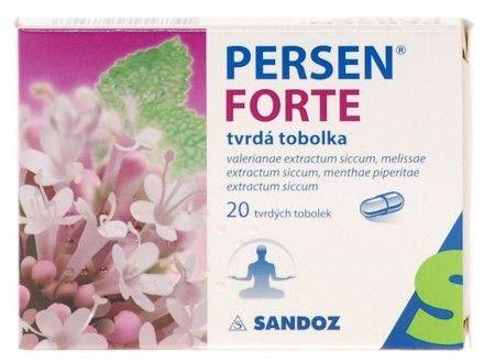 Persen Forte 20 tobolek cena od 102 Kč