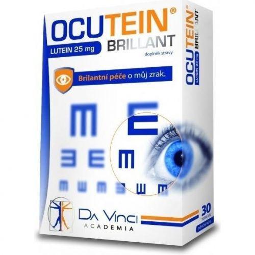 Ocutein Brillant Lutein DaVinci 25 mg 30 tobolek cena od 245 Kč