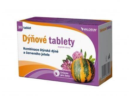VALOSUN Dýňové tablety 30