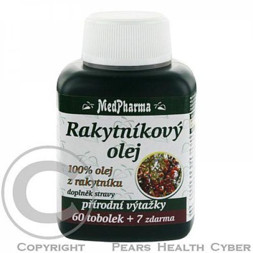 MedPharma Rakytníkový olej 60 mg 67 tobolek