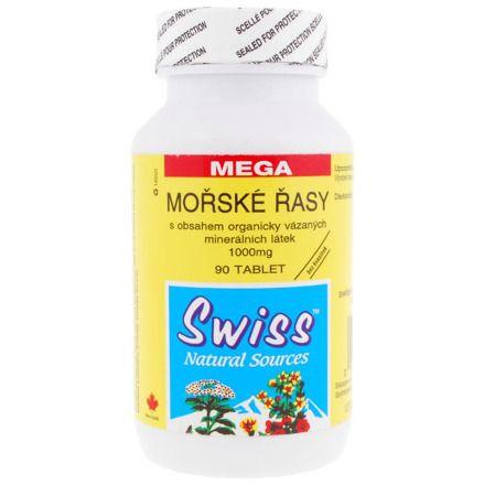 MOŘSKÉ ŘASY 650 mg 60 tablet