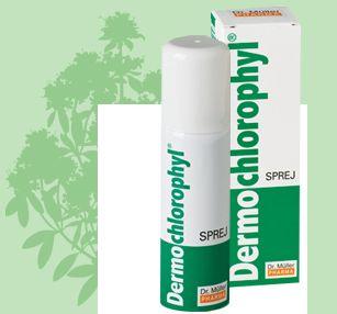 Dermochlorophyl sprej 30 g