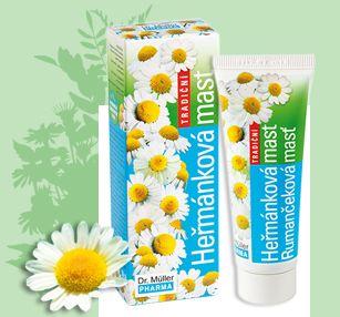 Dr. Müller Pharma Heřmánková mast tradiční 50 ml