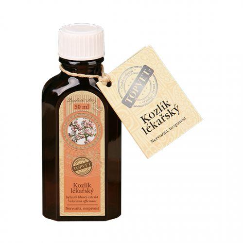 Baldriánské kapky- Kozlík lékařský extrakt 50 ml