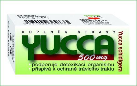 YUCCA 500 mg 60 tablet
