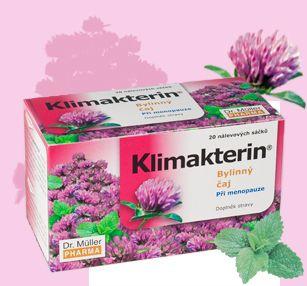 Klimakterin bylinný čaj při menopauze 20x1,5 g