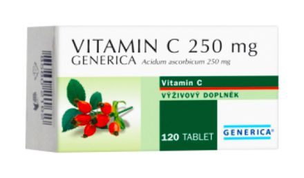 Generica Vitamin C 250 mg 120 tablet