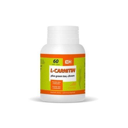 L-Carnitin Plus Green Tea + Chrom 60 tablet