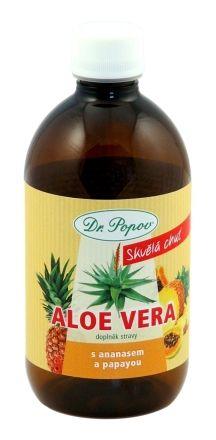 Dr. Popov Aloe Vera + ananas papaya 500 ml