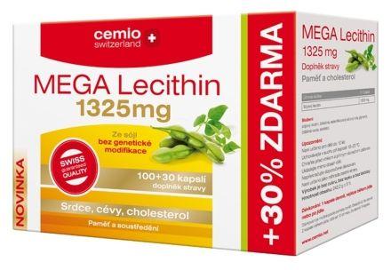 MEGA Lecithin 1325 mg 100+30 kapslí