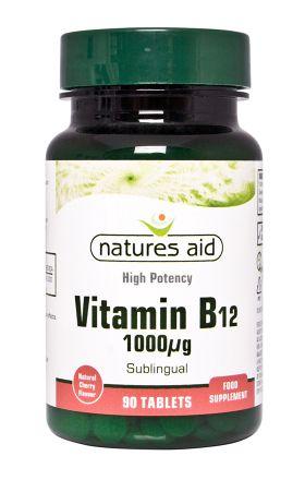 Elanatura Vitamín B12 90 tablet