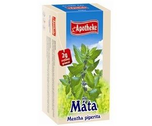 Apotheke Máta peprná čaj 20x2 g cena od 0 Kč