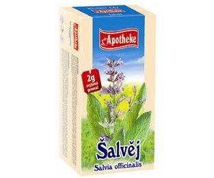 Apotheke Šalvěj lékařská čaj 20 x 2 g
