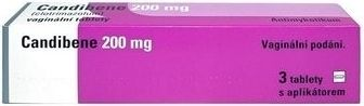 Candibene 200 mg 3 tablety cena od 63 Kč