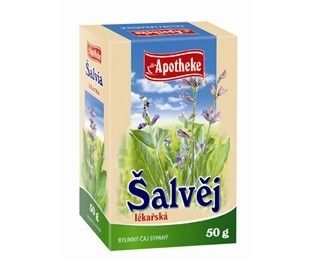 Apotheke Šalvěj lékařská nať sypaný čaj 50 g