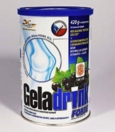 Geladrink Forte nápoj černý rybíz 420 g