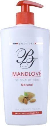 Body Tip Mandlové tělové mléko pro suchou pokožku 400 ml