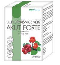 Edenpharma Lichořeřišnice větší akut forte 20 tablet