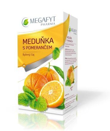Megafyt Ovocný Meduňka s pomerančem 20x2 g cena od 47 Kč