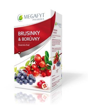 Megafyt Ovocný Brusinky & borůvky 20x2 g cena od 48 Kč