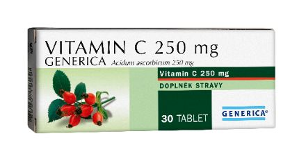 Generica Vitamin C 250 mg 30 tablet