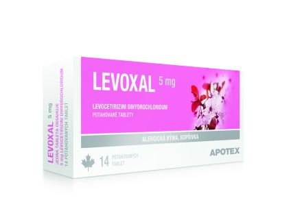 Levoxal 5 mg 14x5 mg cena od 82 Kč