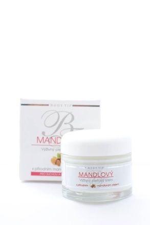 Body Tip Mandlový výživný krém pro suchou citlivou pleť 50 ml