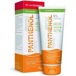 Panthenol forte 9% mléko ALOE VERA 230 ml