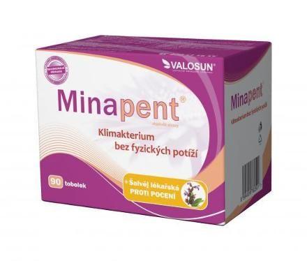 Minapent šalvěj lékařská 90 tobolek