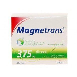 MAGNETRANS 375 mg 50 tyčinek