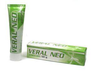 Veral Neo 1% gel 50 g cena od 86 Kč