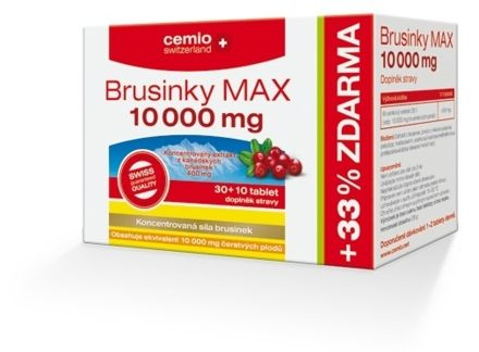 Cemio Brusinky MAX 10000 mg 30+10 tablet