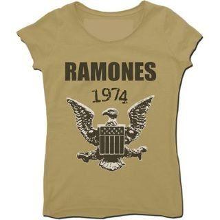 Amplified Ramones 1974 triko