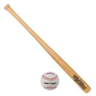 Mid West Slugger Baseball Bat And Ball