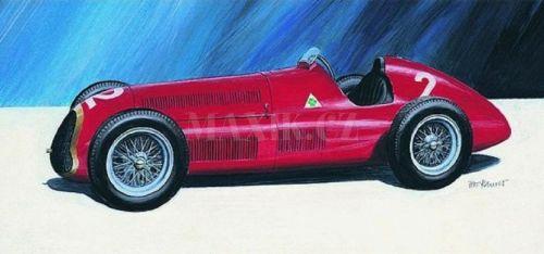 Směr Alfa Romeo Alfetta 1950