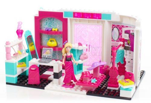 Megablocks Barbie a její módní butik cena od 0 Kč