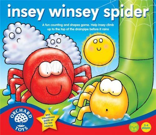 Orchard Toys Leze pavouk, leze vzhuru
