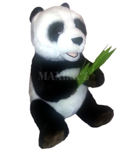 Lamps Plyšová panda s listem cena od 0 Kč