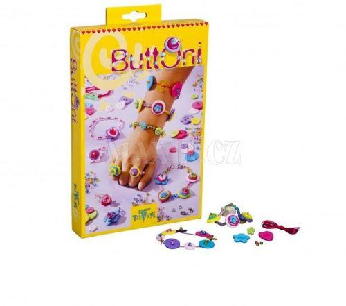 Totum BUTTONI Výroba knoflíkových šperků cena od 249 Kč