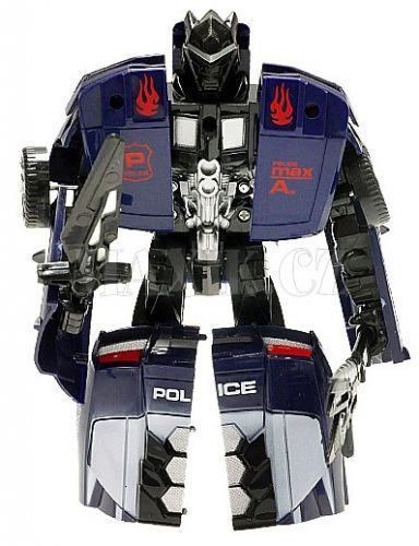 Teddies Transformer auto policie s doplňky 16 cm cena od 124 Kč