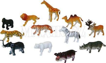 Rappa Zvířata divoká v sáčku 6,5 cm cena od 70 Kč