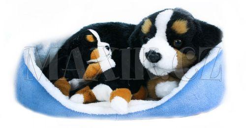 Rappa Plyšový pes s mláďáty v pelíšku cena od 0 Kč