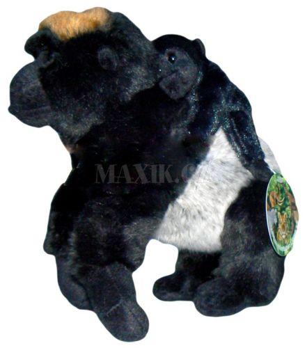 Lamps Plyšová gorila a mládě 24 cm cena od 259 Kč