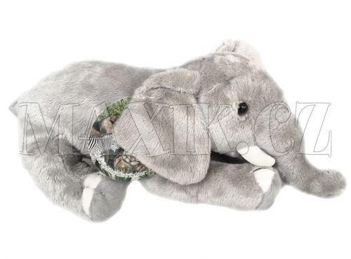 Lamps Plyšový slon 25 cm cena od 172 Kč
